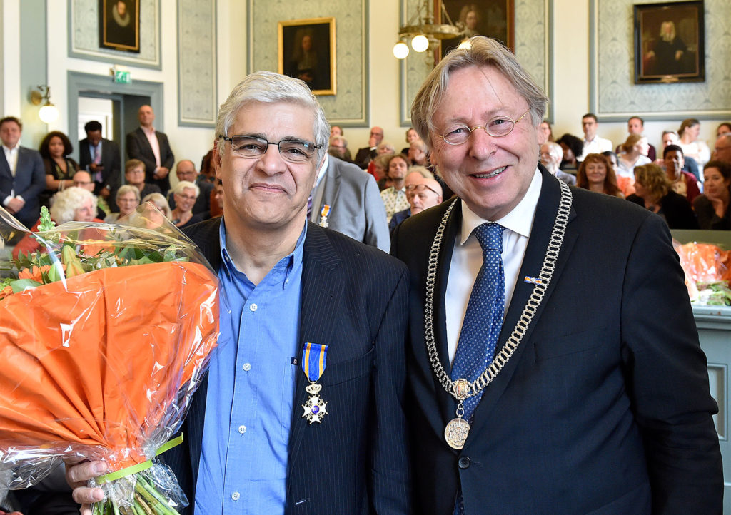 فیزیکدان هسته ای ایرانی، برنده نشان عالی شوالیه هلند شد