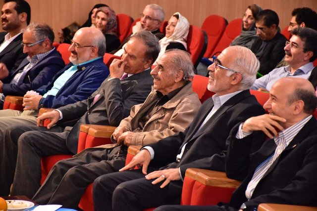 آئین نکوداشت دکتر پرویز نورپناه در دانشگاه صنعتی امیرکبیر برگزار شد