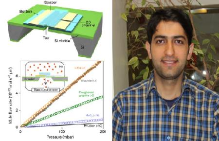 چاپ مقاله مشترک فیزیکدان ایرانی و تیم برنده نوبل ۲۰۱۰ در مجله «نیچر»