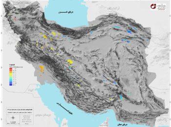 نقشه فرونشست دشتهای ایران تهیه شد