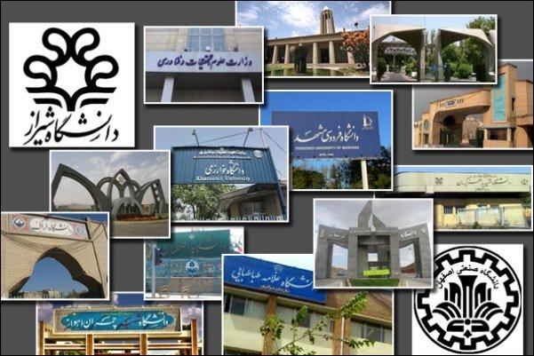 فهرست برترین دانشگاههای ایرانی در تازه ترین رتبه بندی شانگهای اعلام شد