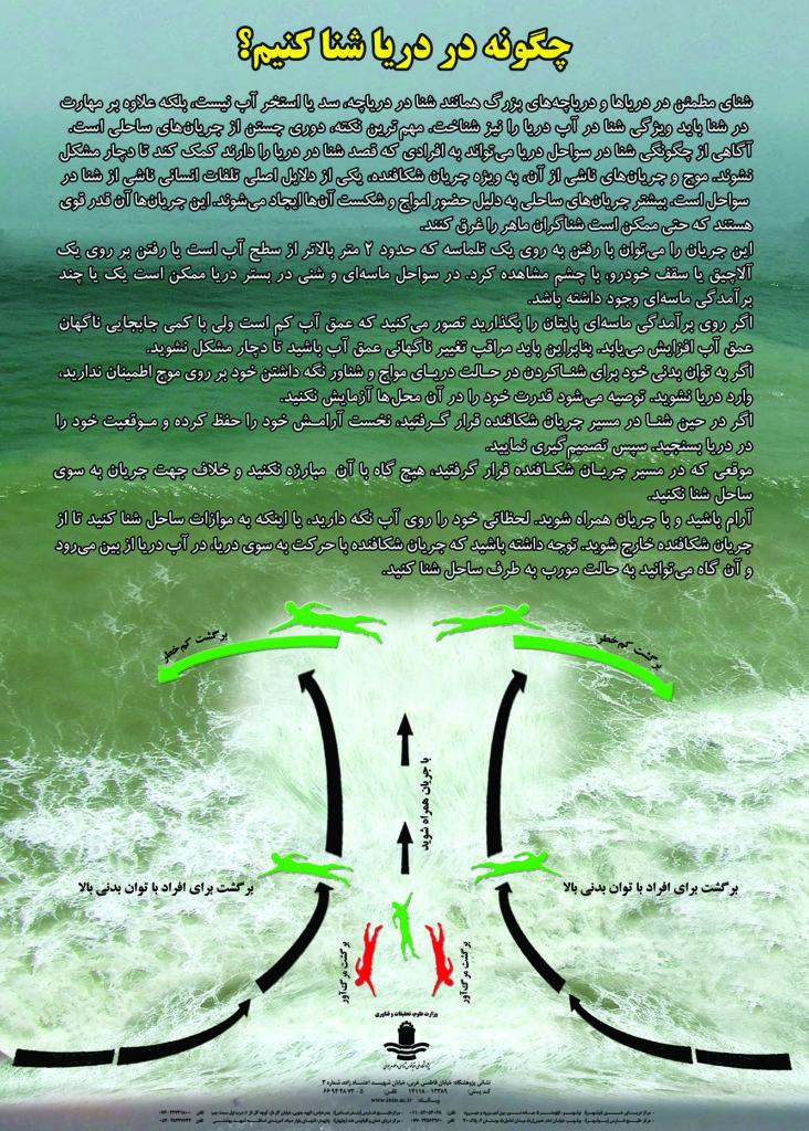جریان شکافنده دریای خزر