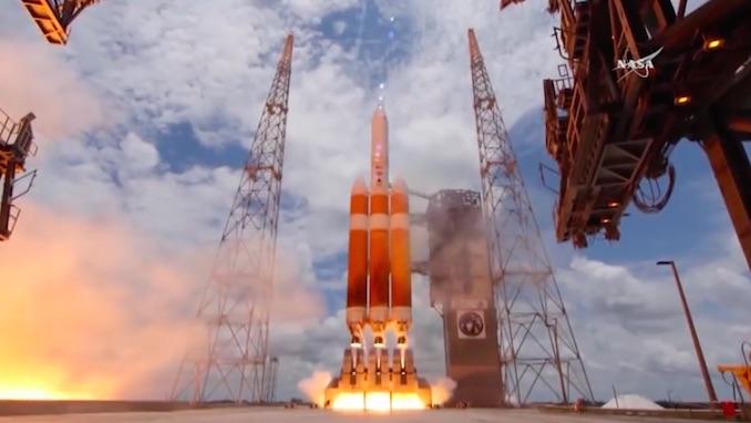 کاوشگر ۱.۵ میلیارد دلاری ناسا به سوی خورشید پرتاب شد