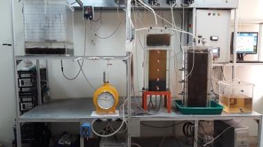 ساخت سیستم راکتور هیبریدی بیولوژیکی تصفیه پساب صنعتی در پژوهشگاه مواد و انرژی