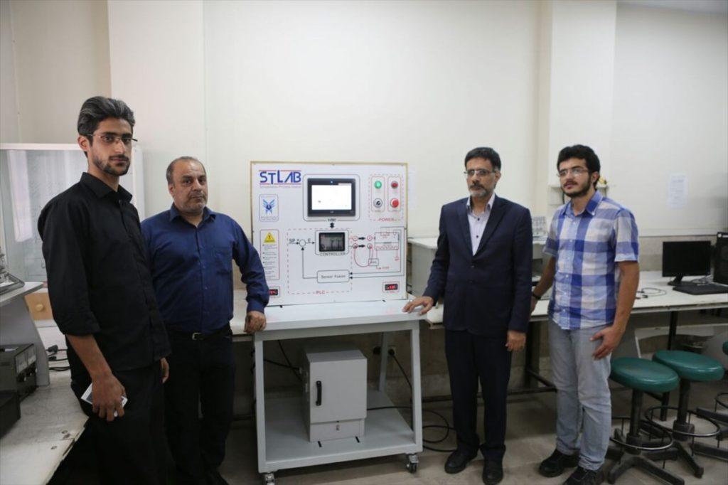بومی سازی شبیهساز کوره صنعتی آزمایشگاه سیستمهای کنترل خطی