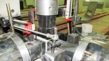 محققان تبریز موفق به ساخت نخستین دستگاه آزمایش فشار سه محوری بتن شدند