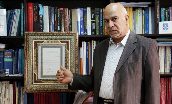 دکتر صبوری، استاد ممتاز دانشگاه تهران شد
