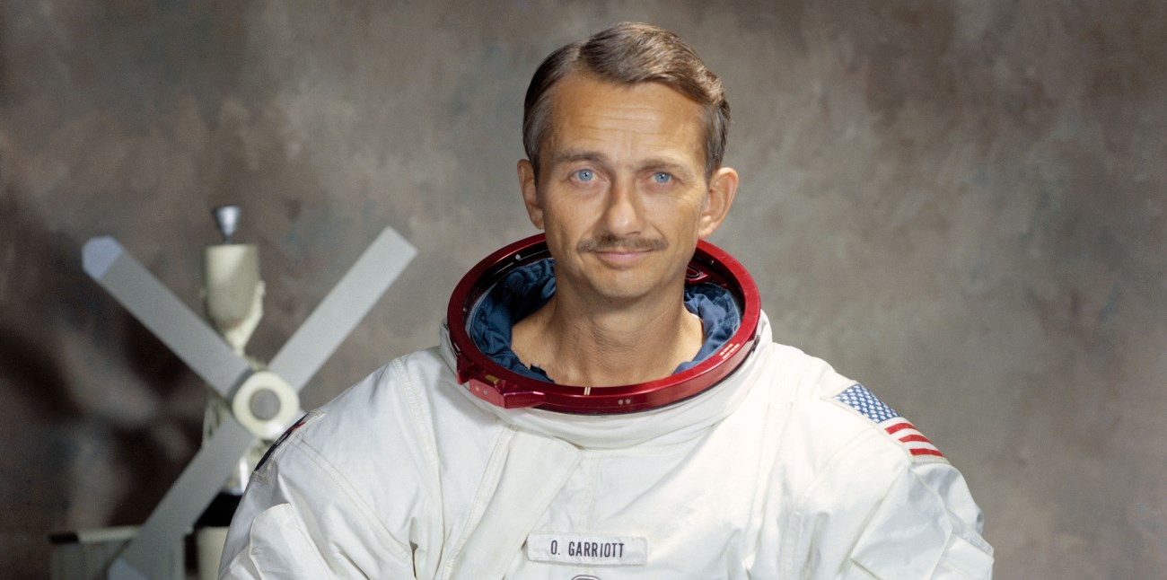 گریوت فضانورد ناسا