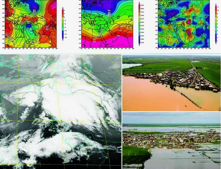 بررسی تاثیر سیلاب های اخیر در نواحی مصبی و ساحلی شمال و جنوب کشور