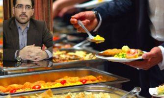 """عضو هیات مدیره انجمن علمی بهداشت و ایمنی مواد غذایی: رستوران هاي سلف سرویس تبدیل به """"اسرافکده"""" شده است!"""