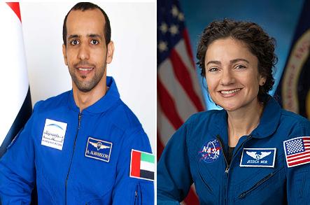 سفر مشترک فضانوردان اماراتی و اسرائیلی به ایستگاه فضایی