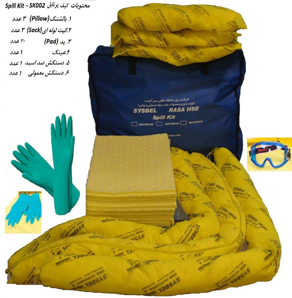 بازیافت مواد شیمیایی و اسیدها با کیتهای جاذب ایرانی