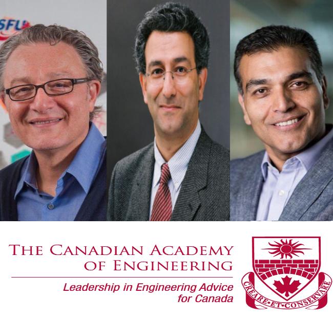 عضویت سه دانشمند ایرانی در آکادمی مهندسی کانادا