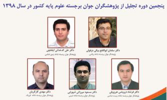 پژوهشگران جوان برجسته علوم پایه کشور از سوی فرهنگستان علوم معرفی شدند