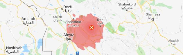 تخریب شماری از ساختمان ها در زلزله ۵٫۷ ریشتری مسجد سلیمان