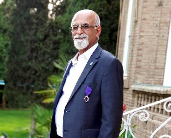 اعطای مدال نخل آکادمیک فرانسه به استاد ریاضی دانشگاه تهران