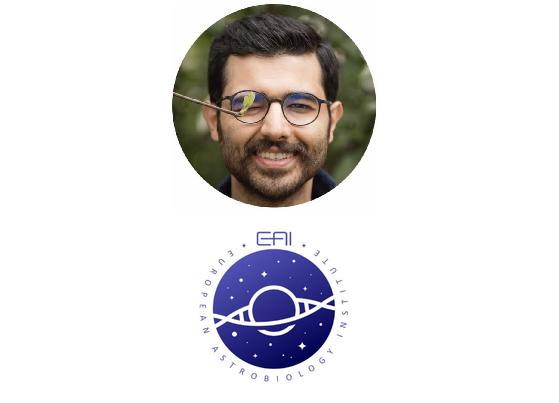 نقش هنر گرافیست ایرانی بر پیشانی «انستیتو اخترزیستشناسی اروپا»