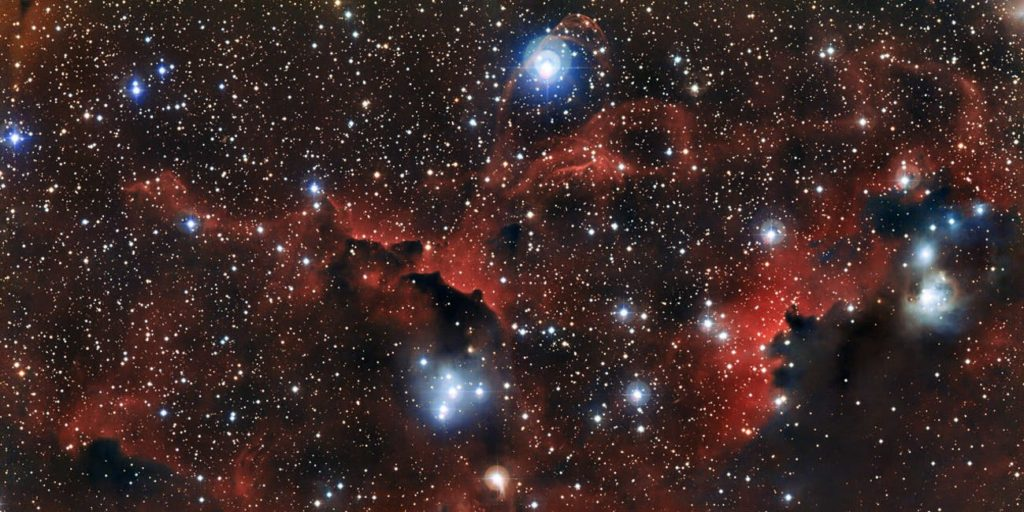 موفقیت اخترفیزیکدانان ایرانی در توصیف دینامیک درونی ستاره های کهکشان DF44