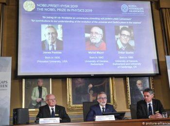 نوبل ۲۰۱۹ را سه فیزیکدان از کانادا و سوییس بردند