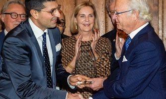 دو جوان ایرانی، جایزه نوآوری «طلایه دار سال» را از پادشاه سوئد دریافت کردند