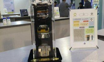 مدل مهندسی ماهواره مکعبی نصیر۱ ساخته شد