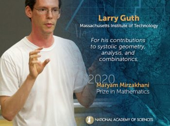 برنده جایزه «مریم میرزاخانی» آکادمی ملی علوم آمریکا معرفی شد