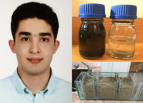 در دانشگاه صنعتی امیرکبیر انجام شد: حذف آلاینده های نفتی آب با کربن فعال تولیدی از پوست گردو