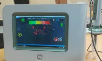 رونمایی از دستگاه ایرانی تشخیص سریع کووید-۱۹