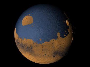 موفقیت فیزیکدان ایرانی در کشف شواهد جدید از یک اقیانوس عظیم بر روی مریخ