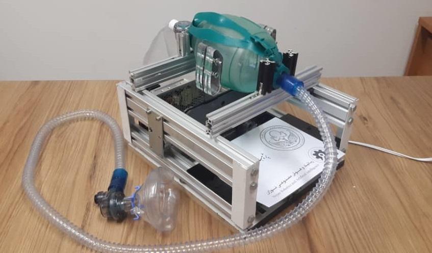 بازتاب ساخت دستگاه ونتیلاتور توسط محققان دانشگاه تهران در نشریات IEEE