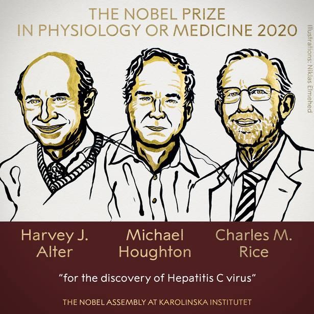 نوبل پزشکی ۲۰۲۰ به کاشفان ویروس هپاتیت سی رسید