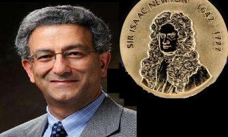 دانشمند ایرانی، برنده مدال «آیزاک نیوتن» ۲۰۲۰ شد