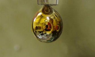 تبدیل آب به فلزی براق!