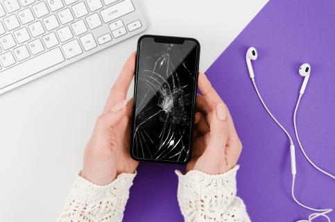 توانایی خود ترمیمی صفحه نمایش تلفن های همراه در آینده