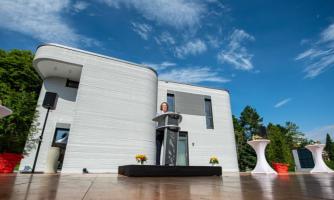 ساخت اولین خانه با استفاده از چاپگر سه بعدی در آلمان