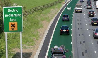 بتن بزرگراه، خودروهای برقی در حال حرکت را شارژ خواهد کرد